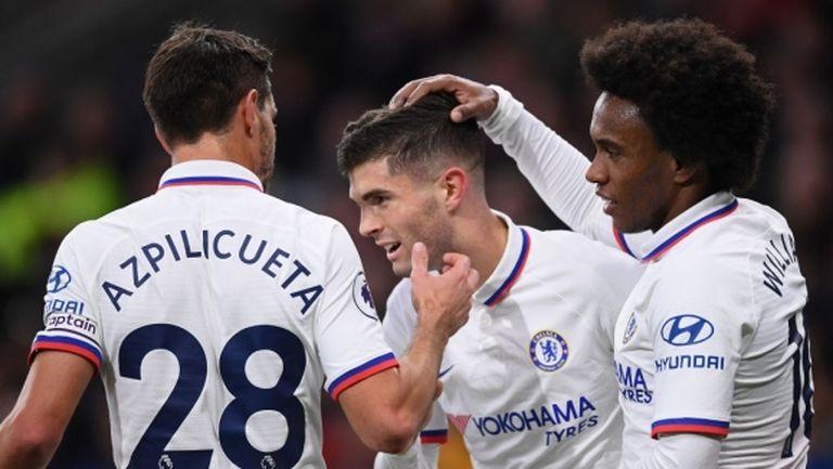 Хеттрик на Пулишич засили Челси към седмата поредна победа