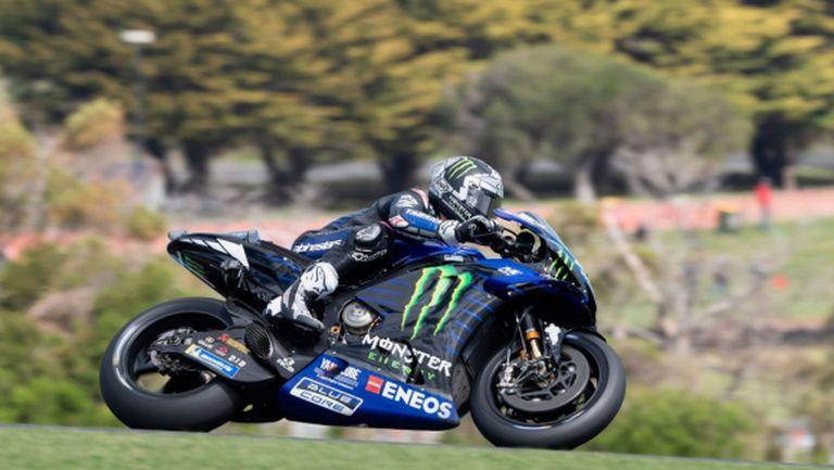 """Изумителен Винялес спечели квалификацията на """"Филип Айлънд"""" в MotoGP"""