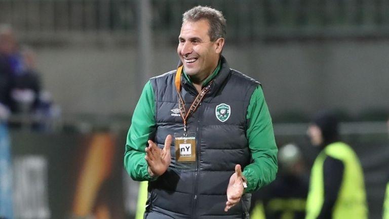 Херо: Берое трябва да е във водещите четири отбора в България