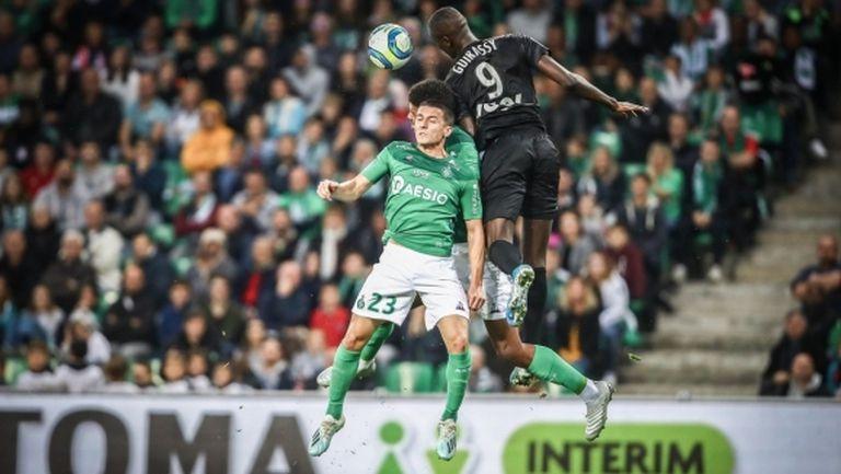 Амиен прекъсна победната серия на Сент Етиен в Лига 1