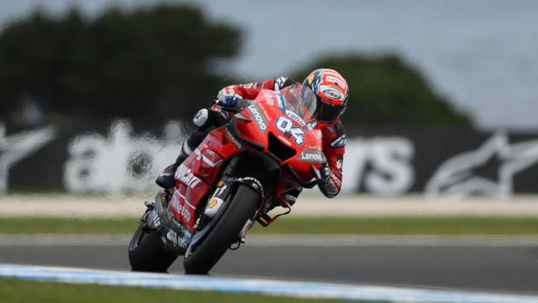 Дови си гарантира второто място в MotoGP за 2019
