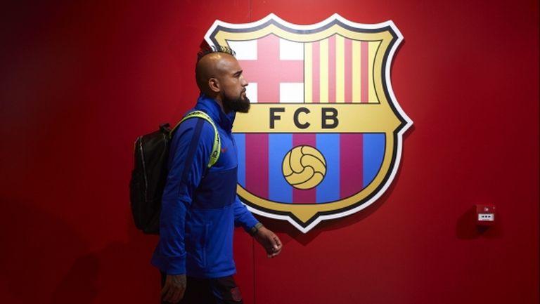 Артуро Видал призна, че не е доволен от статута си в Барселона