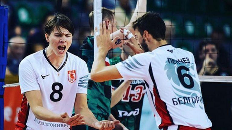 Розалин Пенчев със страхотен мач, но Белогорие загуби от Динамо-ЛО (видео)