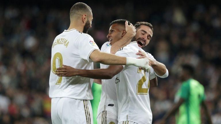 Реал Мадрид напълни мрежата на последния (видео + галерия)