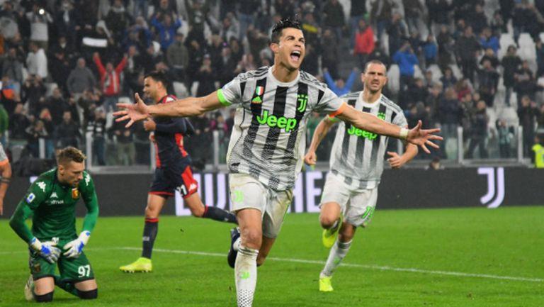 Роналдо върна Ювентус на върха в Серия А (видео)