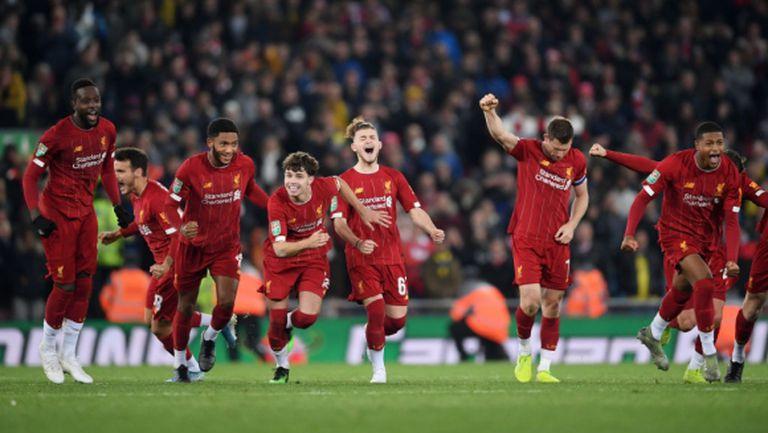 """Пренасрочват двубоя на Ливърпул за """"Карабао Къп"""" през януари, хаосът с мачовете на мърсисайдци става голям"""