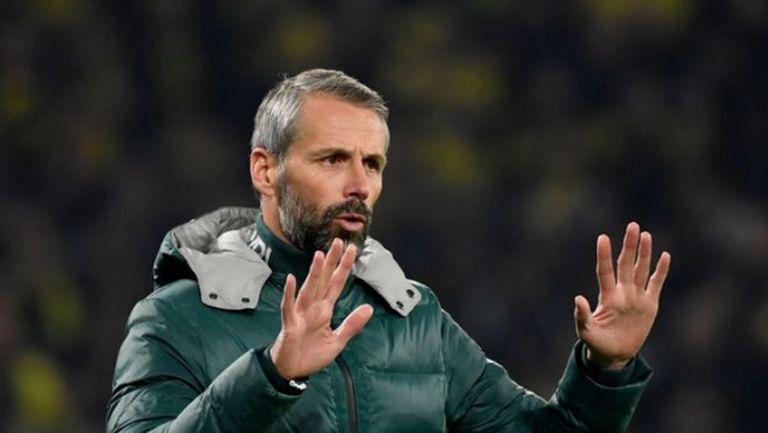 Наказаха условно треньора на Борусия Мьонхенгладбах