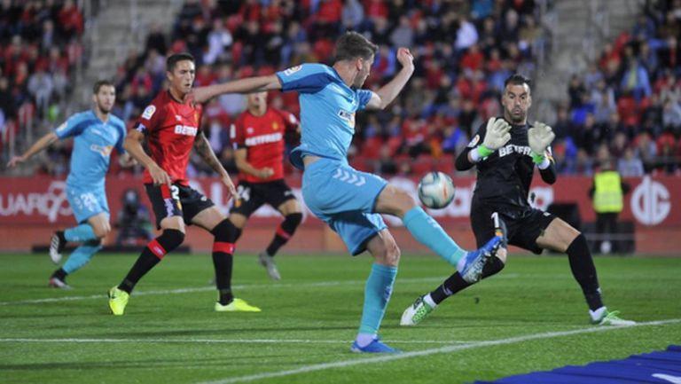 Късен гол носи успех на Ейбар, две дузпи не стигнаха на Майорка