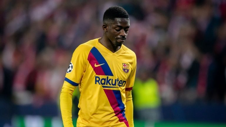 Валверде изхвърли Дембеле от групата на Барселона