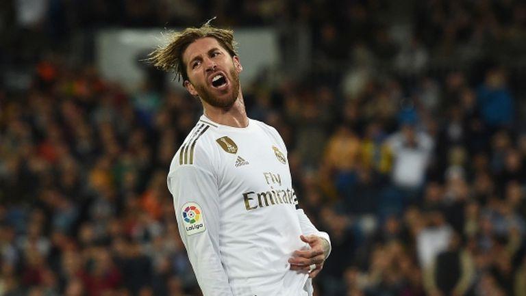Реал Мадрид се подхлъзна и остави Барса на върха (видео + галерия)