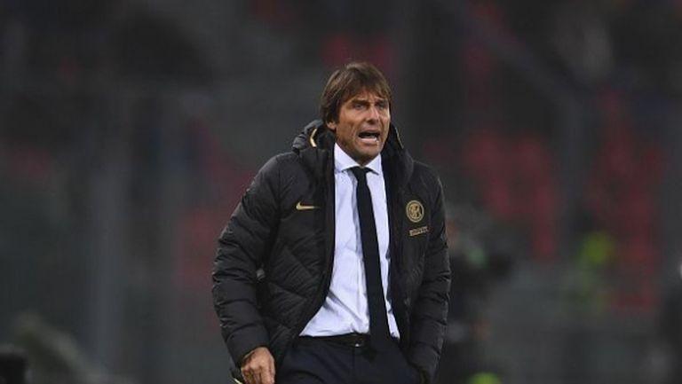 Конте: Този отбор има характер, искам да постигна с Интер това, което направих с Юве и Челси