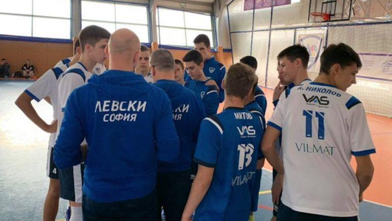 Левски София взе 2 победи с по 3:0 над ВК Люлин