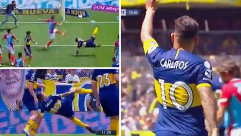 И на 35 години Карлос Тевес си остава голов хищник (видео)