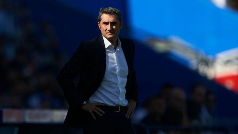 Валверде: Опитвам се да намеря футболните аргументи, заради които загубихме