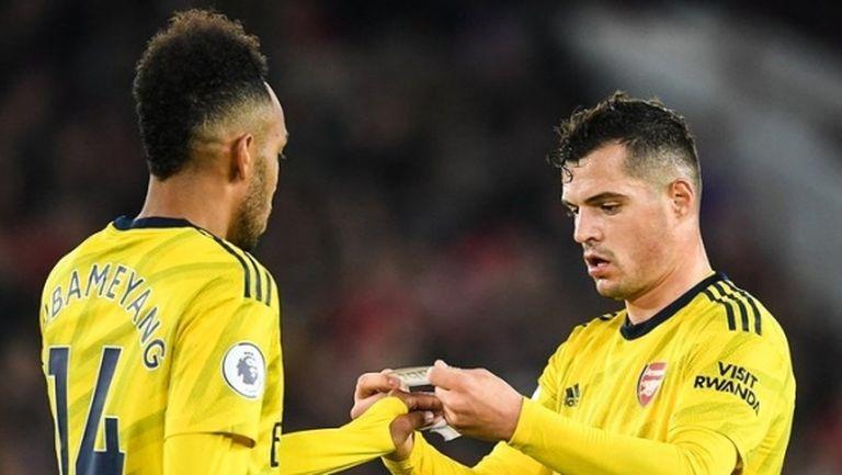 Емери най-сетне се реши: Джака няма повече да бъде капитан на Арсенал