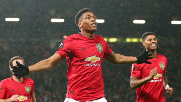 След силен мач и три гола Ман Юнайтед се класира за елиминациите на Лига Европа (видео)