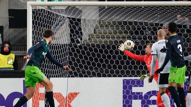 Спортинг поведе след успех в Норвегия