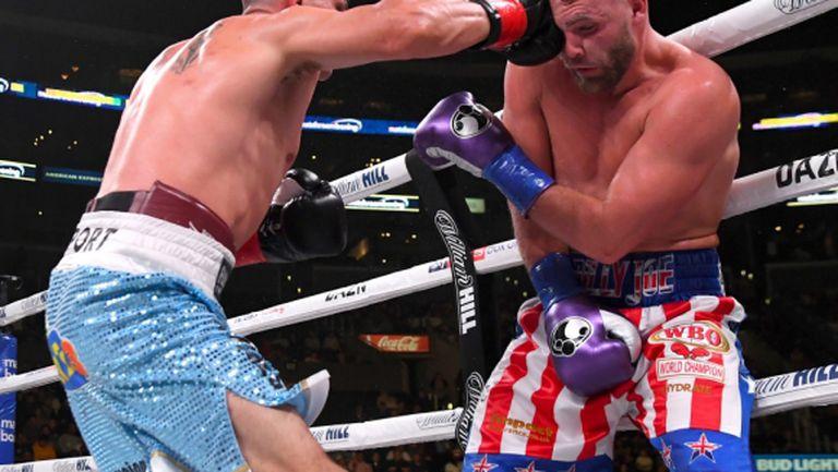 Били Джо Соундърс нокаутира Косерес и защити титлата