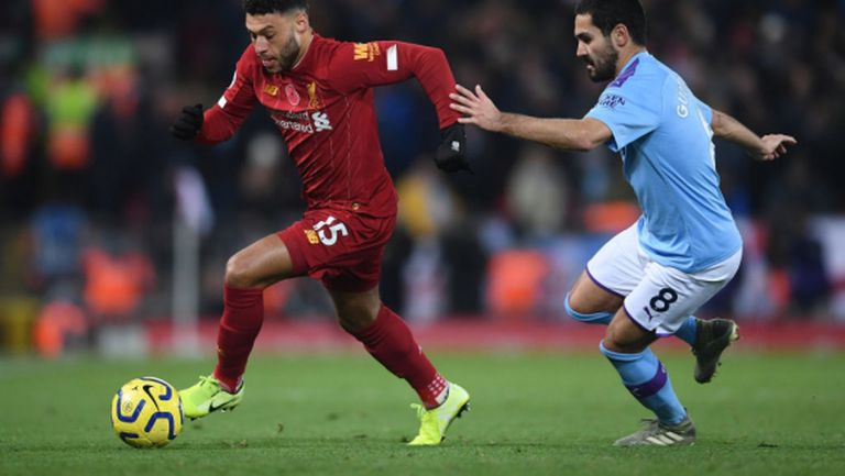 Играчите на Манчестър Сити са били ядосани в съблекалнята заради първия гол на Ливърпул