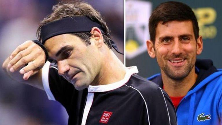 Суперсблъсъкът Федерер - Джокович е в четвъртък