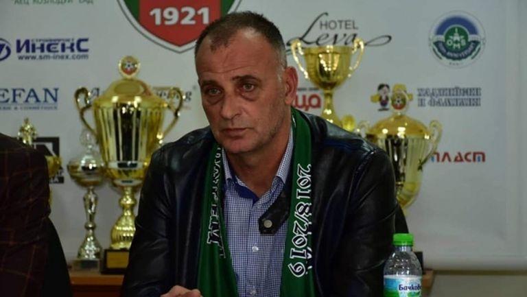 Тони Здравков обяви щаба си във Враца