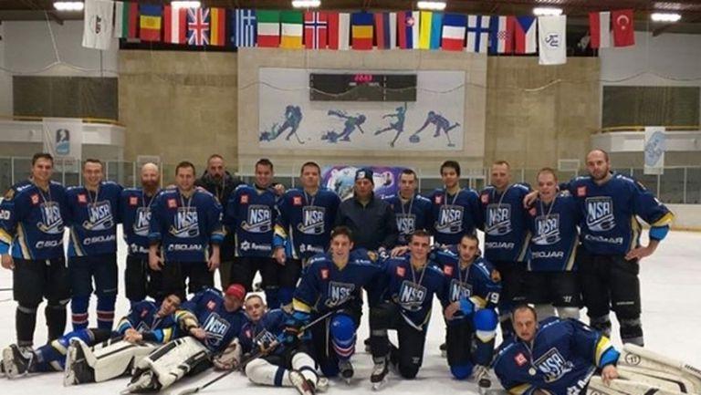 НСА взе сребърните медали за Купата на България по хокей