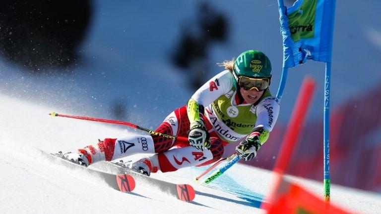"""Свърши """"ембаргото"""" на австрийска скиорка"""