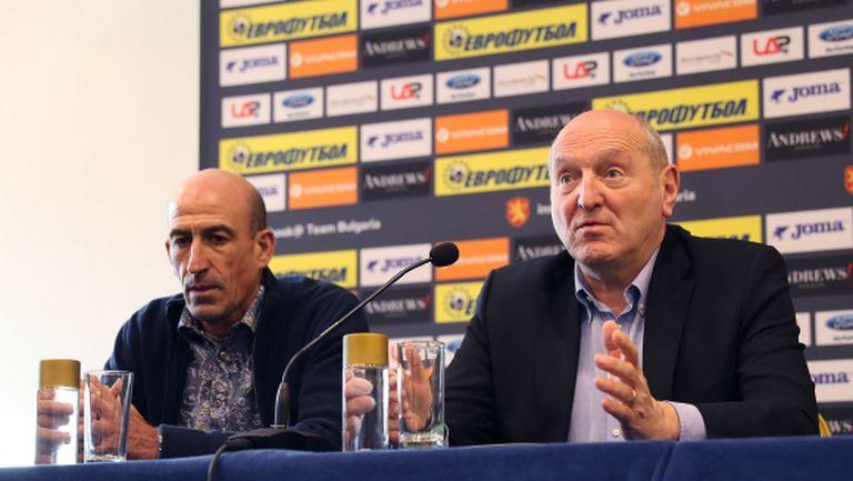 Михаил Касабов: Никакъв проблем няма между мен и Лечков (видео)