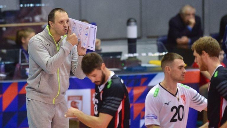 Уволниха треньора на Розалин Пенчев в Белогорие