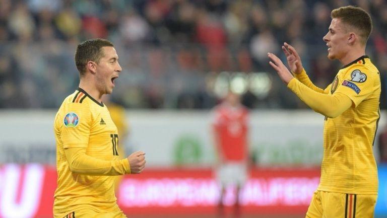 Белгия разнищи Русия като гост и си осигури първото място в групата (видео)
