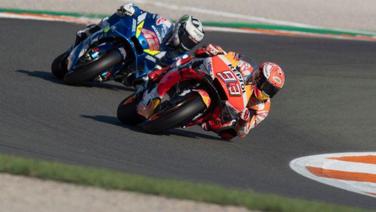 Маркес с ключова победа за Honda, Лоренсо се сбогува с MotoGP