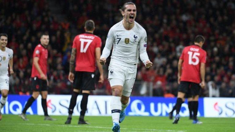 Франция спечели задочния спор с Турция за първото място в група Н