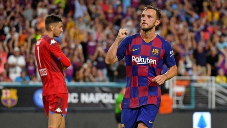 Барселона отказа оферта от клуб от Премиър лийг за Ракитич