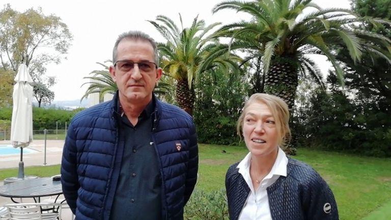 Илия и Емилия Динкови: Надяваме се да направим един изключителен мач (видео)