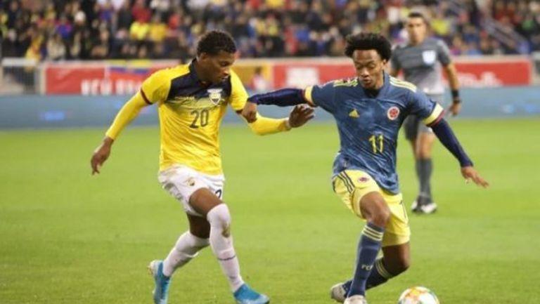 Колумбия се справи и с Еквадор