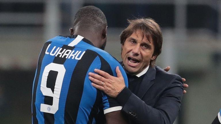 Лукаку е важен играч за Интер, категоричен е Конте