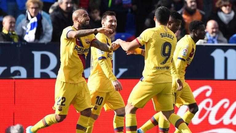 Рикошет покри Барселона в мач на експериментите (видео)