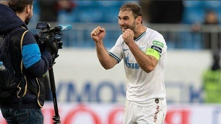 Зенит измъкна победата в Казан