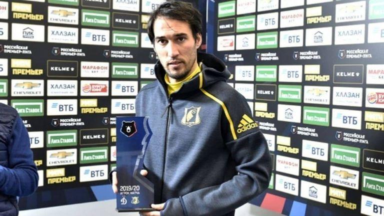 Ивелин Попов бе избран за Играч на мача срещу Динамо