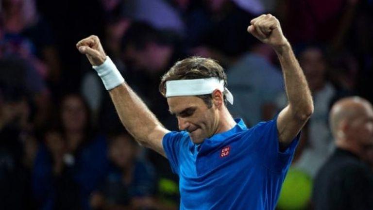 Още една победа на Федерер завърши южноамериканското турне