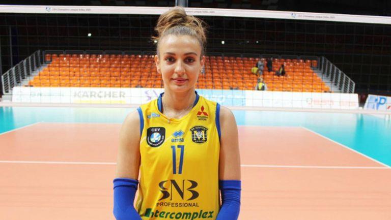 Силвия Андреева: Страхотно е чувството да играеш в Шампионска лига (видео)