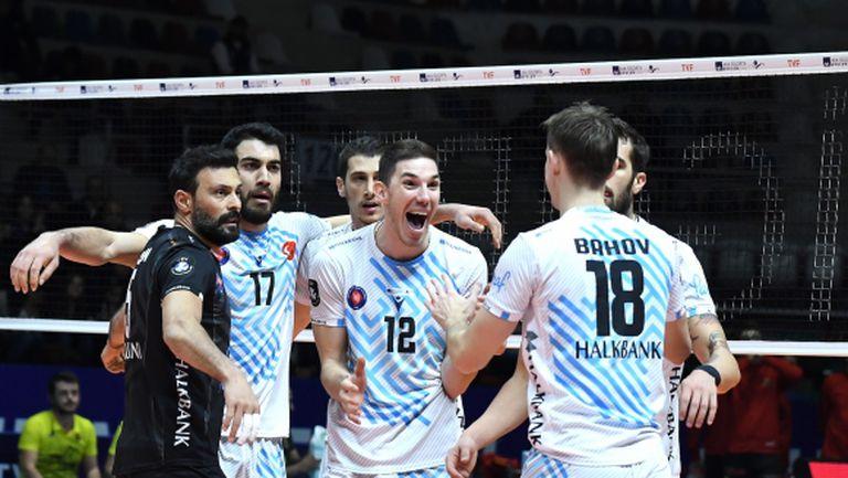 Георги Сеганов и Халкбанк с 4-и пореден успех в Турция