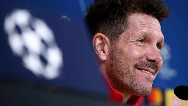 Симеоне: Ще играем срещу Ювентус, а не срещу Роналдо