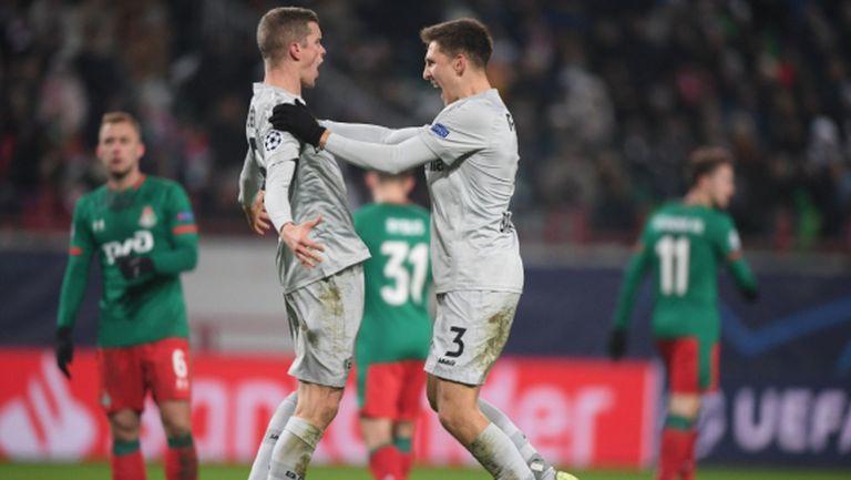 Леверкузен наказа Локомотив и ще играе в Европа и през пролетта (видео)
