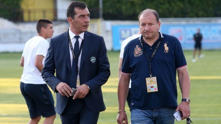 Петричев: Ще има напрежение, очаквам труден мач