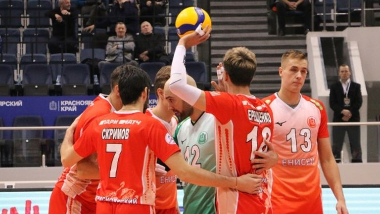 Тодор Скримов се завърна в игра и донесе победа на Енисей (снимки)