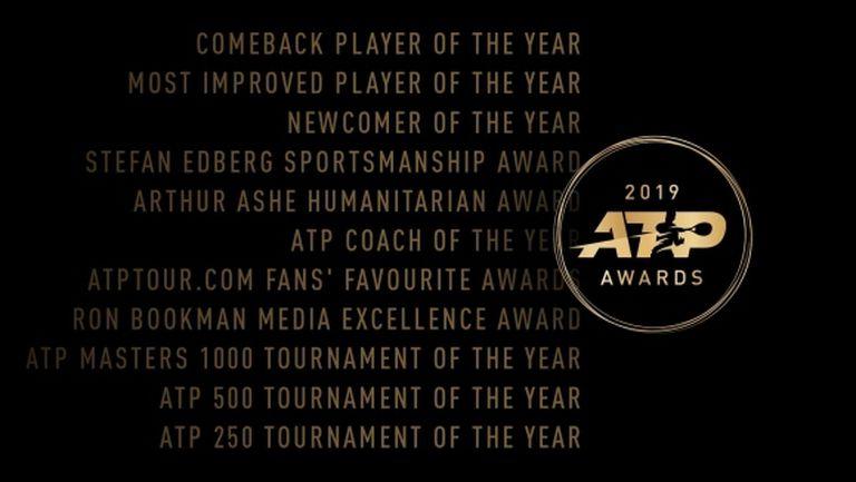 Вижте всички номинации на АТР за 2019 година