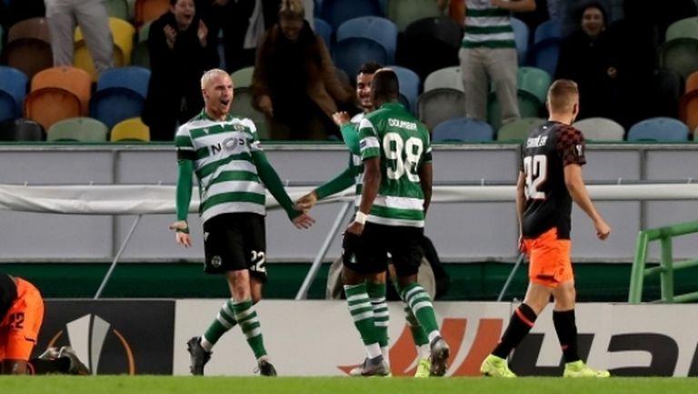 Спортинг (Лисабон) си осигури класирането напред (видео)