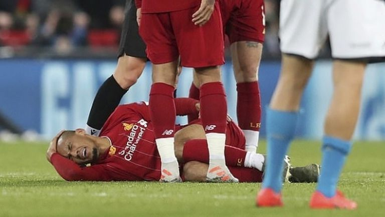 Фабиньо може да пропусне следващите 10 мача на Ливърпул