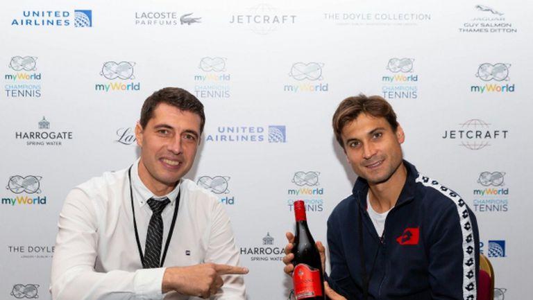 Давид Ферер: Григор Димитров е много важен за феновете на тениса